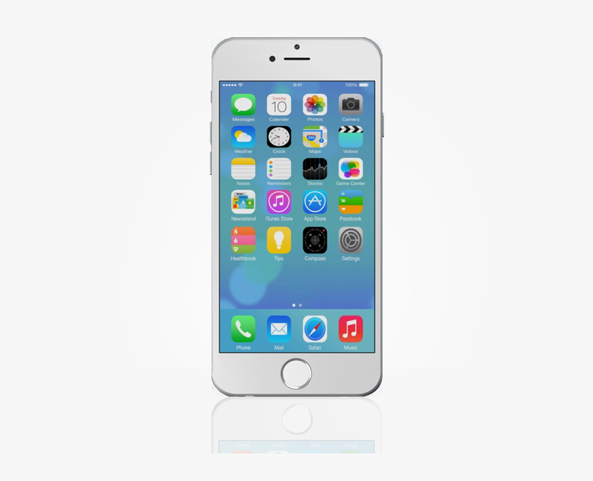 Iphone 6 Png Image - Smartphone Apple Iphone 7, Transparent Png, Free Download