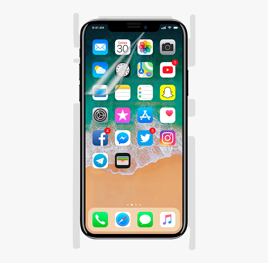 Iphone X Png Background Image - Iphone X Release Date 2017, Transparent Png, Free Download