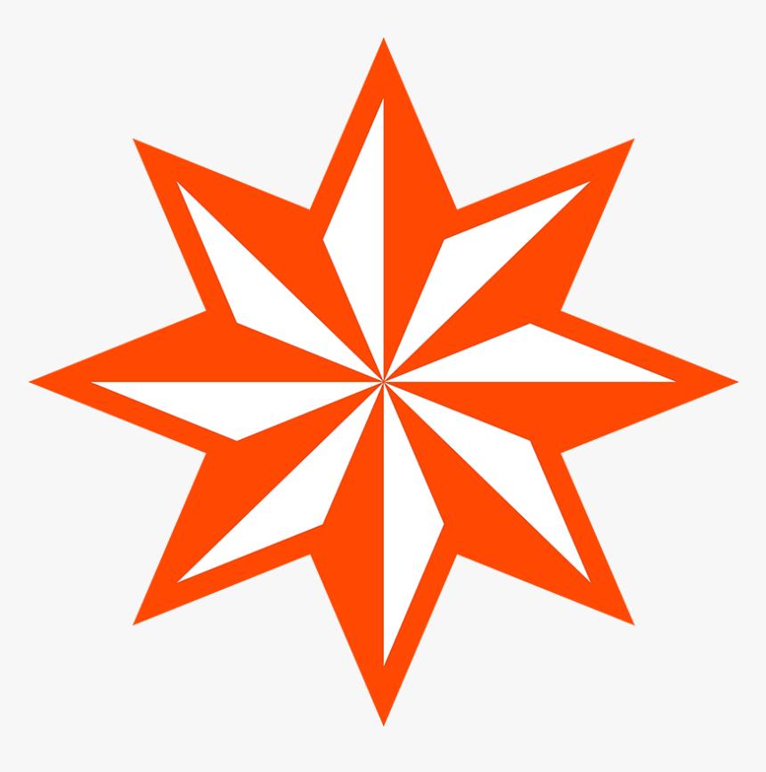 Transparent Red Asterisk Png - 8 Point Star, Png Download, Free Download