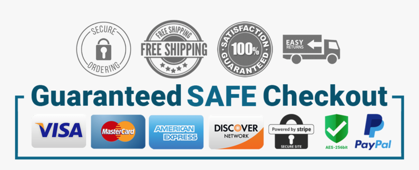 Guarantee Safe Checkout - Guaranteed Safe Checkout, HD Png Download -  kindpng