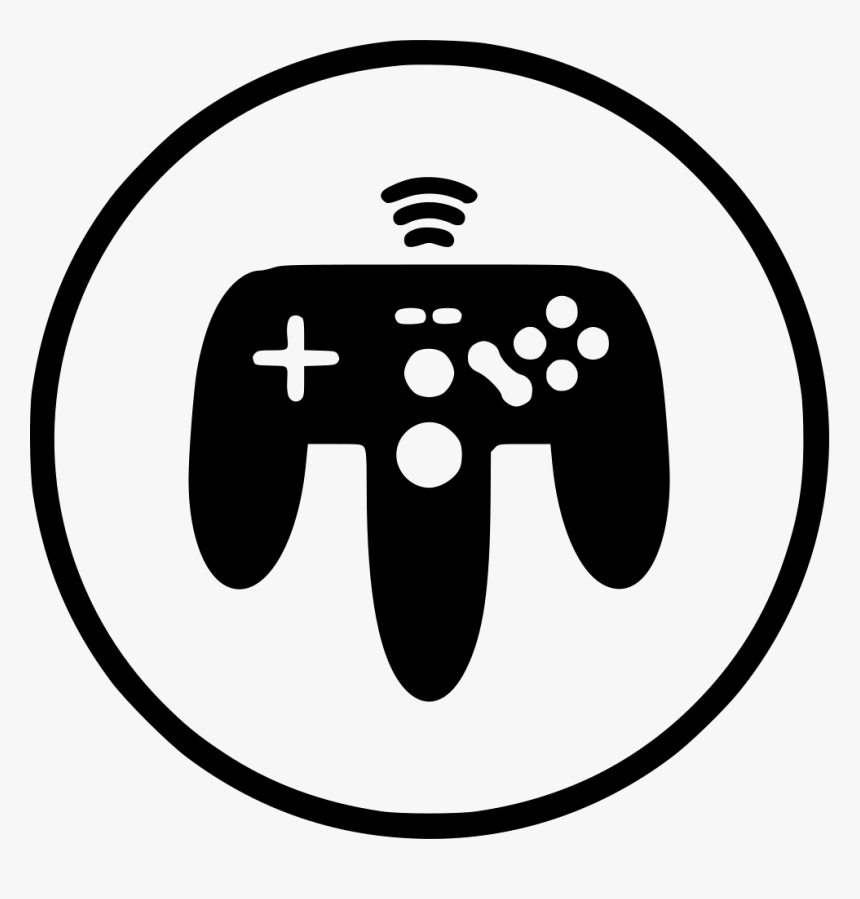 Wireless Remote Controller Gamepad Joystick Joypad - Indoor Game Icon, HD Png Download, Free Download