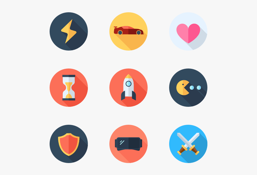 Game Icon Vector Png, Transparent Png, Free Download