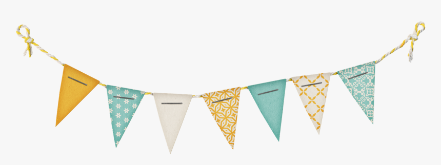 Clip Art Halloween Pennant Vector Transparent - Party Flags Png, Png Download, Free Download