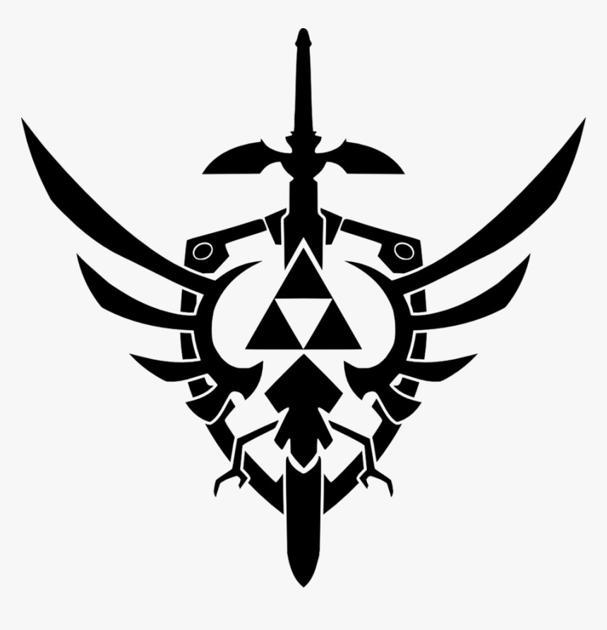Transparent Triforce Png - Triforce And Master Sword, Png Download, Free Download