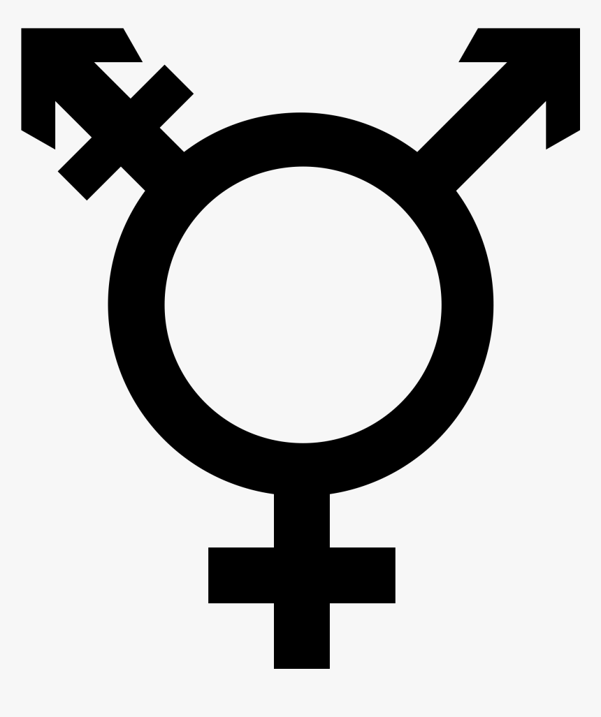 Transparent Black Sword Clipart - Transgender Symbol Png, Png Download, Free Download