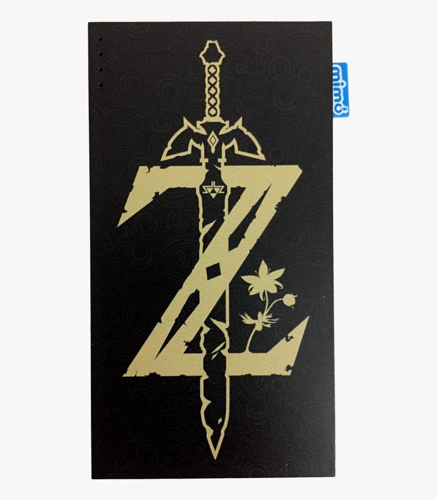 Legend Of Zelda Sword Mimopowerdeck 8000mah Nintendo - Zelda Hd Wallpaper Iphone X, HD Png Download, Free Download