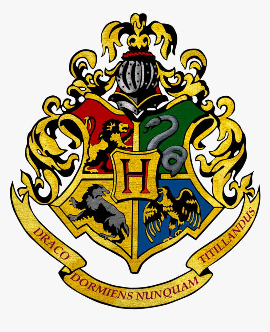 Transparent Harry Potter Hogwarts Crest Hd Png Download Kindpng