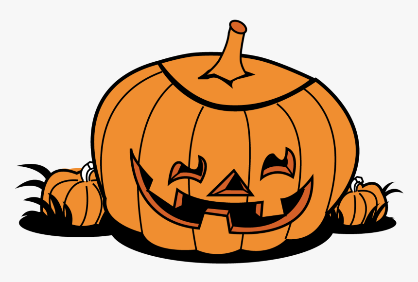 Halloween Pumpkin Patch Clip Art Free Clipart Images - Cute Printable Pumpkin Coloring Pages, HD Png Download, Free Download