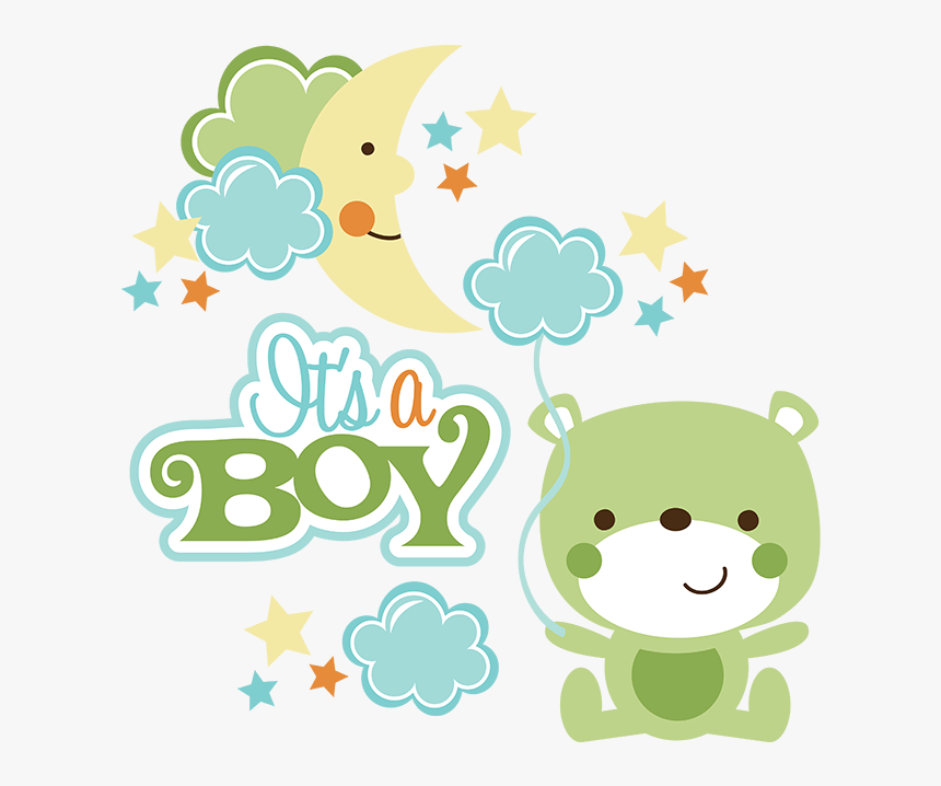Scrapbook Clipart Baby Boy Baby Shower Boy Png Transparent Png Kindpng