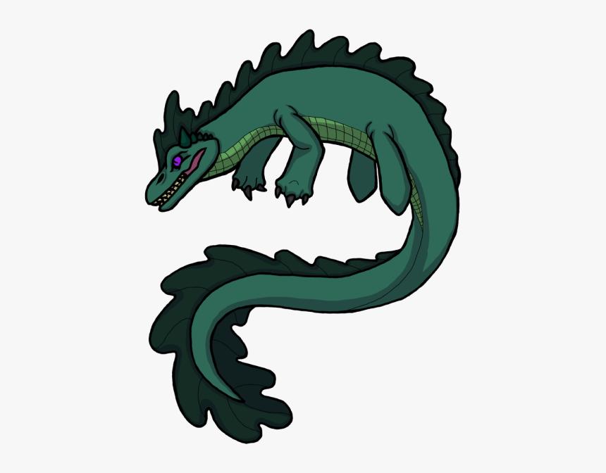 Cartoon Loch Ness Monster Hd Png Download Kindpng