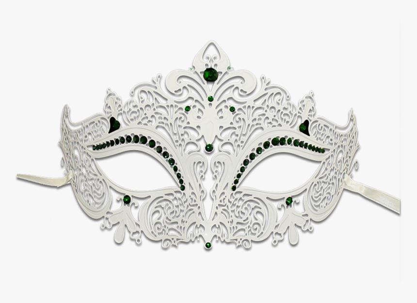 White Masquerade Mask Png - White Masquerade Mask Transparent, Png Download, Free Download