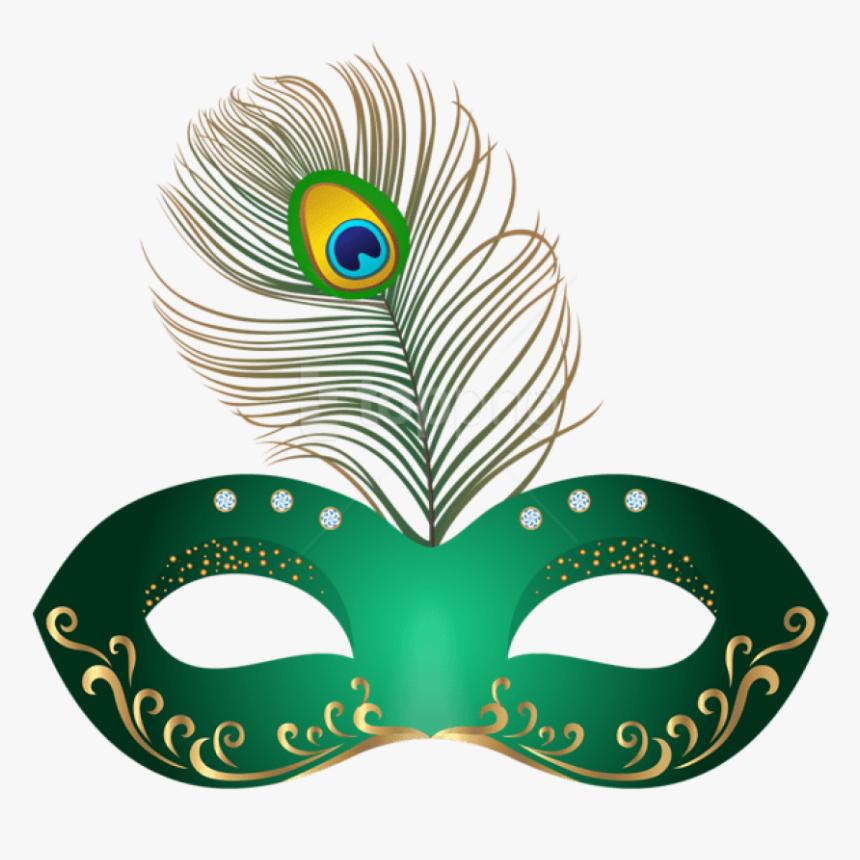 Free Png Download Green Carnival Mask Clipart Png Photo - Brazil Carnival Masks Printable, Transparent Png, Free Download