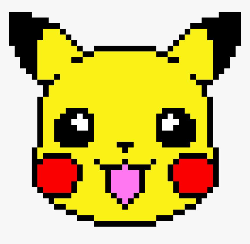 Pixel Art Cute Pikachu Png Download Pikachu In Graphing