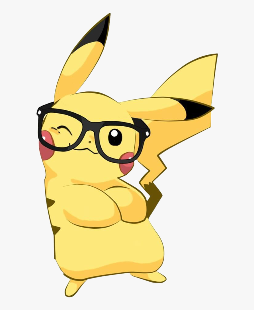 #pikachu #pokemon #cute #animal #cool #yellow #pika - Pokemon Cute Pikachu, HD Png Download, Free Download