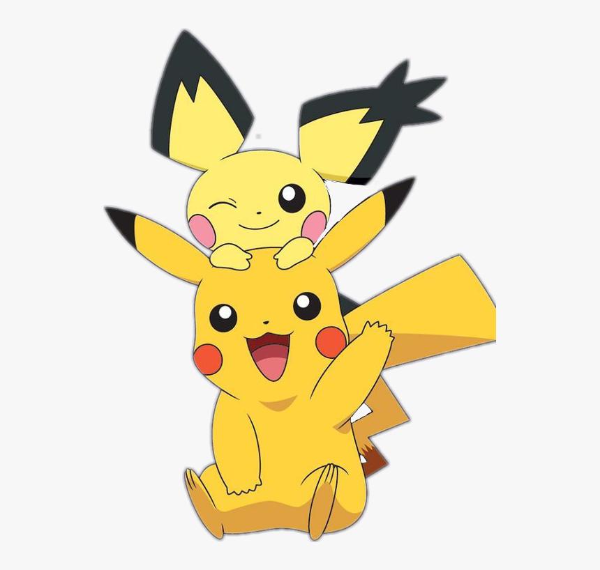 Pokemon Pikachu , Png Download - Imagenes De Pikachu Y Pichu, Transparent Png, Free Download