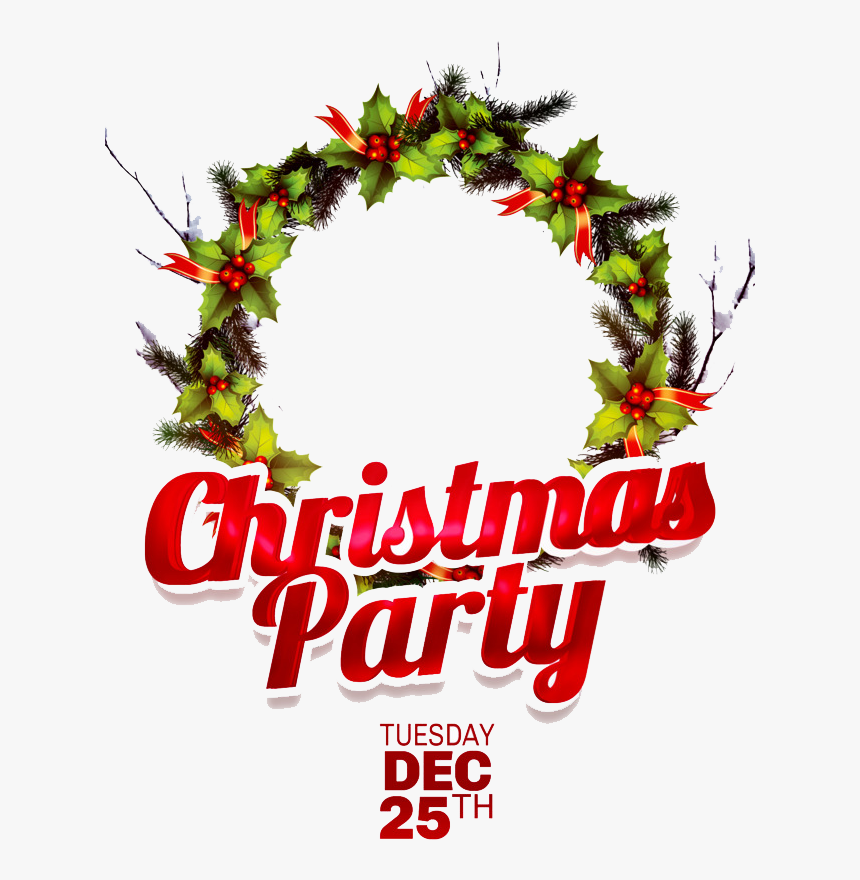 Christmas Party Png Transparent Image - Transparent Christmas Party Png, Png Download, Free Download