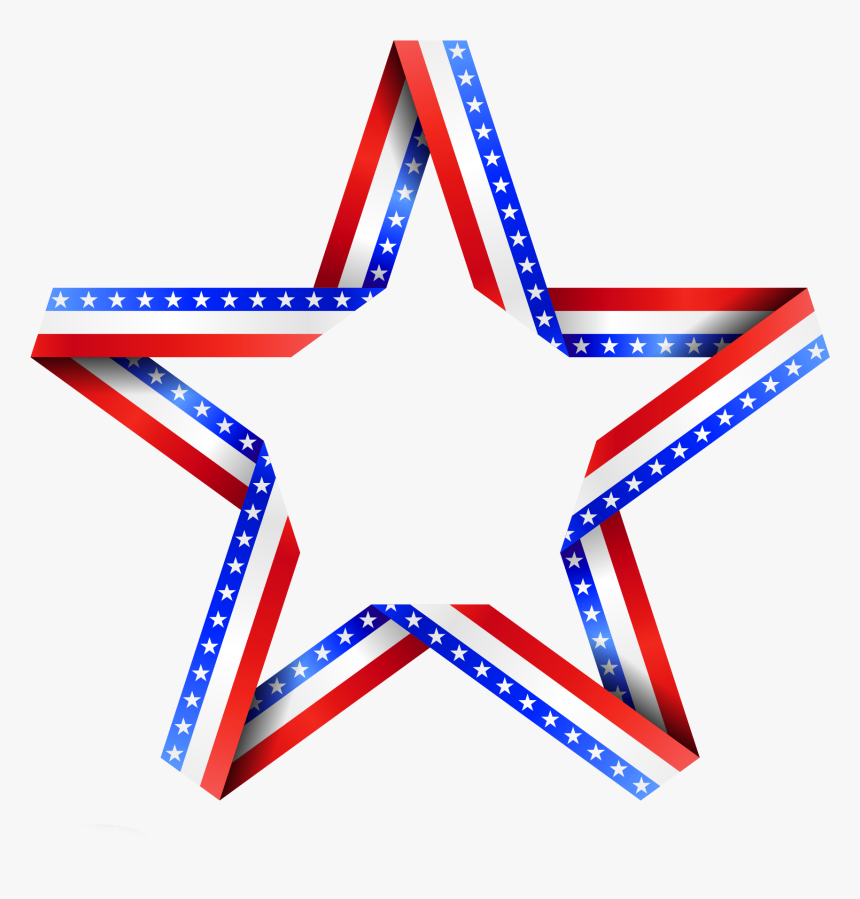 American Star Decor Png - Clip Art American Flag Stars, Transparent Png, Free Download