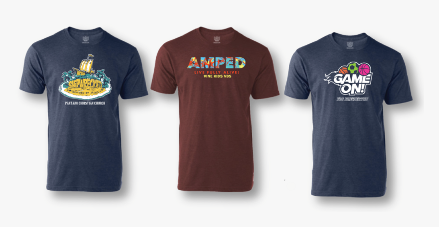 The Examples Shown Above Are Client Samples Of Our - Best Logo T Shirt Examples, HD Png Download, Free Download