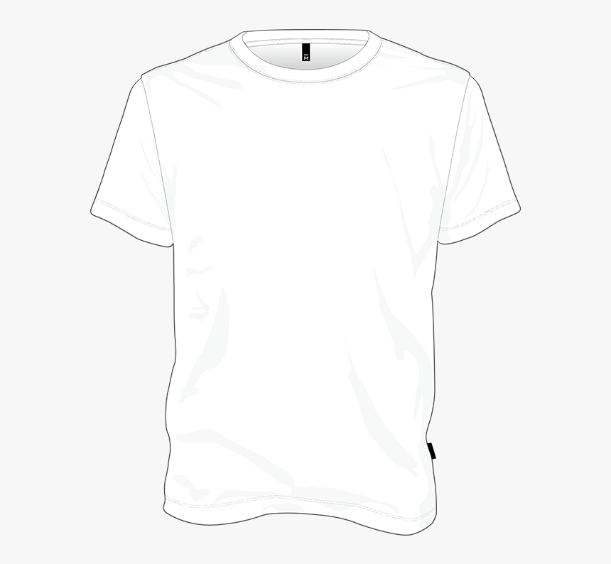 Tee Shirt Design Template - T Shirt For Design, HD Png Download, Free Download