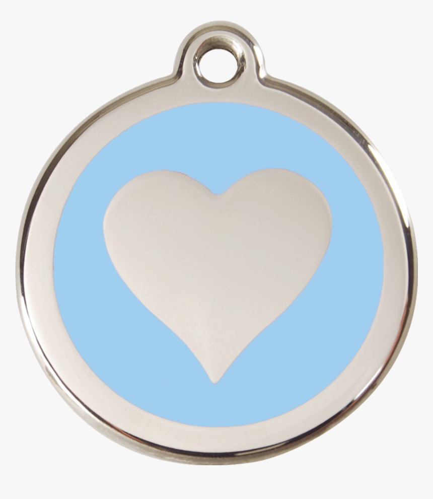 Red Dingo Stainless Steel Enameled Engraved Id Tag - Locket, HD Png Download, Free Download
