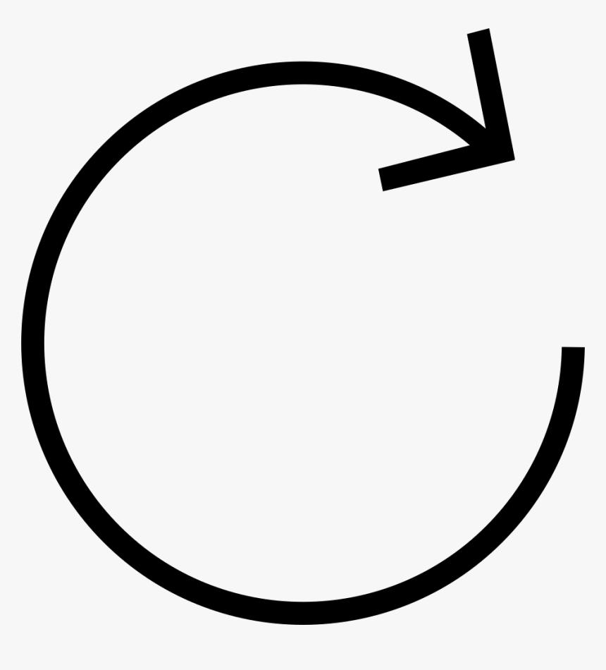 Circular Arrow - Circle Arrow Png, Transparent Png, Free Download
