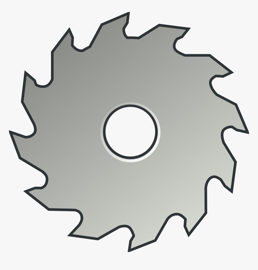 Circular Saw Table Saws Blade Clip Art - Circular Saw Blade Clip Art, HD Png Download, Free Download