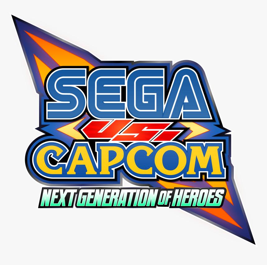 Sega Vs Capcom Logo , Png Download, Transparent Png, Free Download