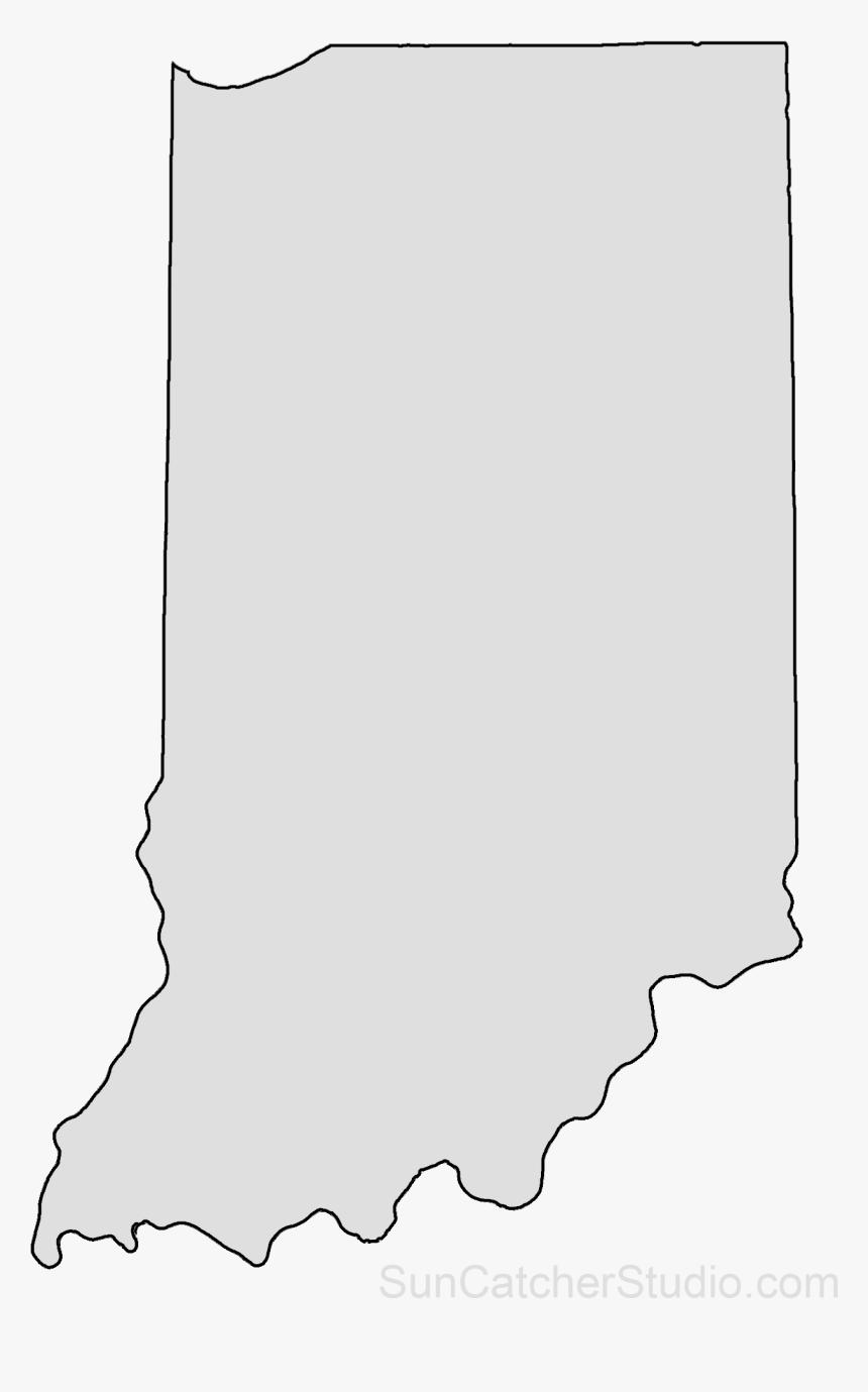 Indiana Outline Png - Transparent Indiana Outline, Png Download, Free Download