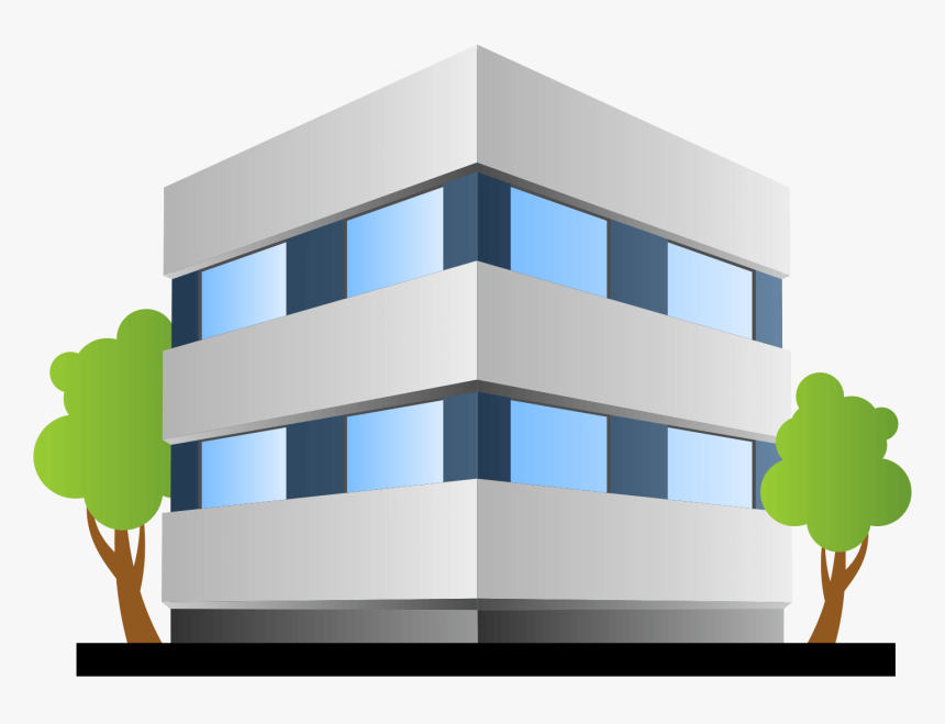 Office Building Vector Png, Transparent Png, Free Download