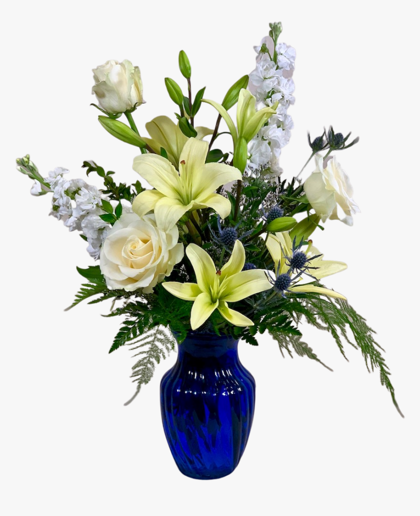 Serene Blue Skies - Bouquet, HD Png Download, Free Download