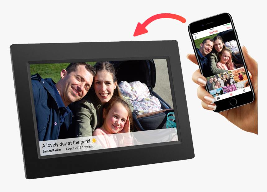 10 Digital Photo Touch Screen, HD Png Download, Free Download