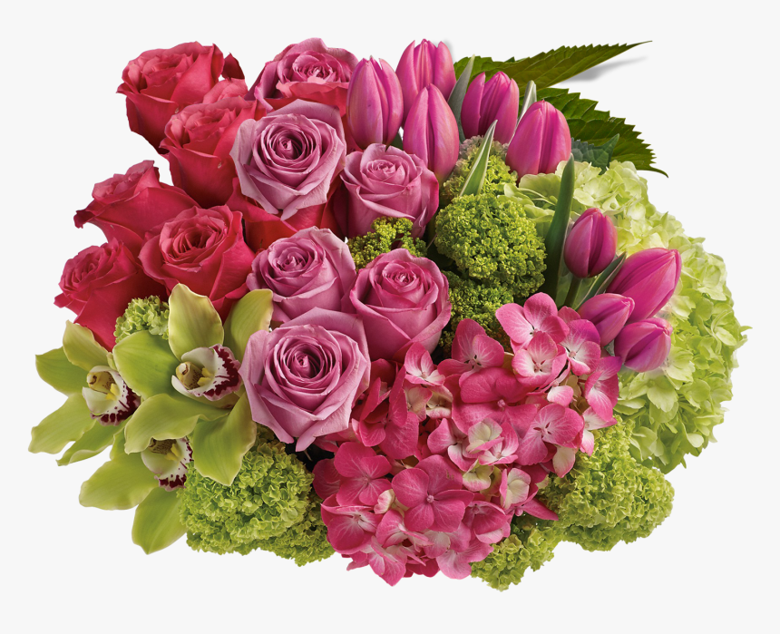 Bouquet On The Cycle, HD Png Download, Free Download