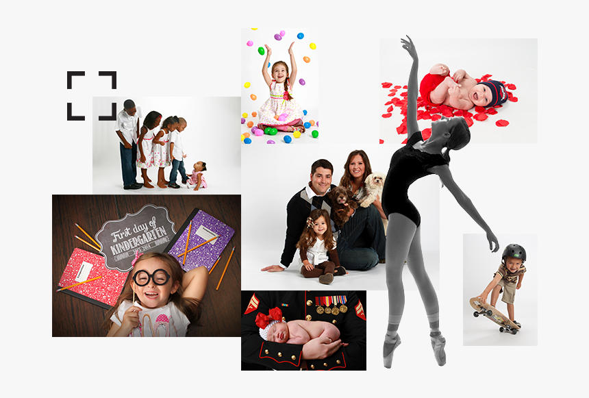 Image Collage - Studio Photo People, HD Png Download, Free Download