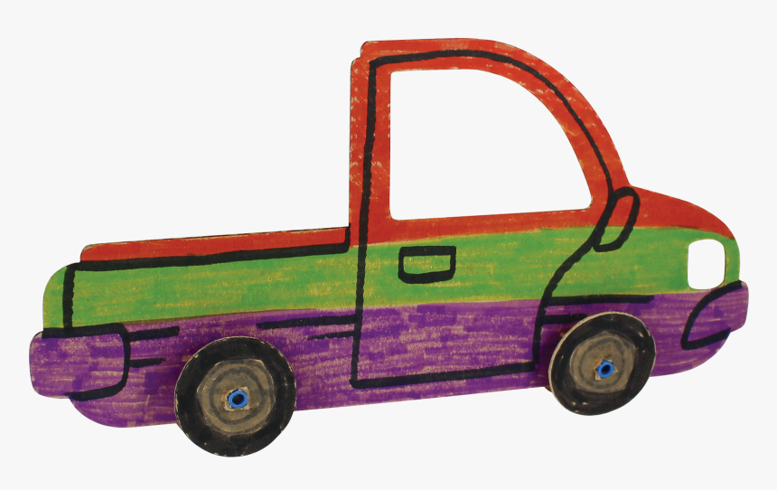 Collage Cars Picture Frame - Pickup Truck, HD Png Download, Free Download