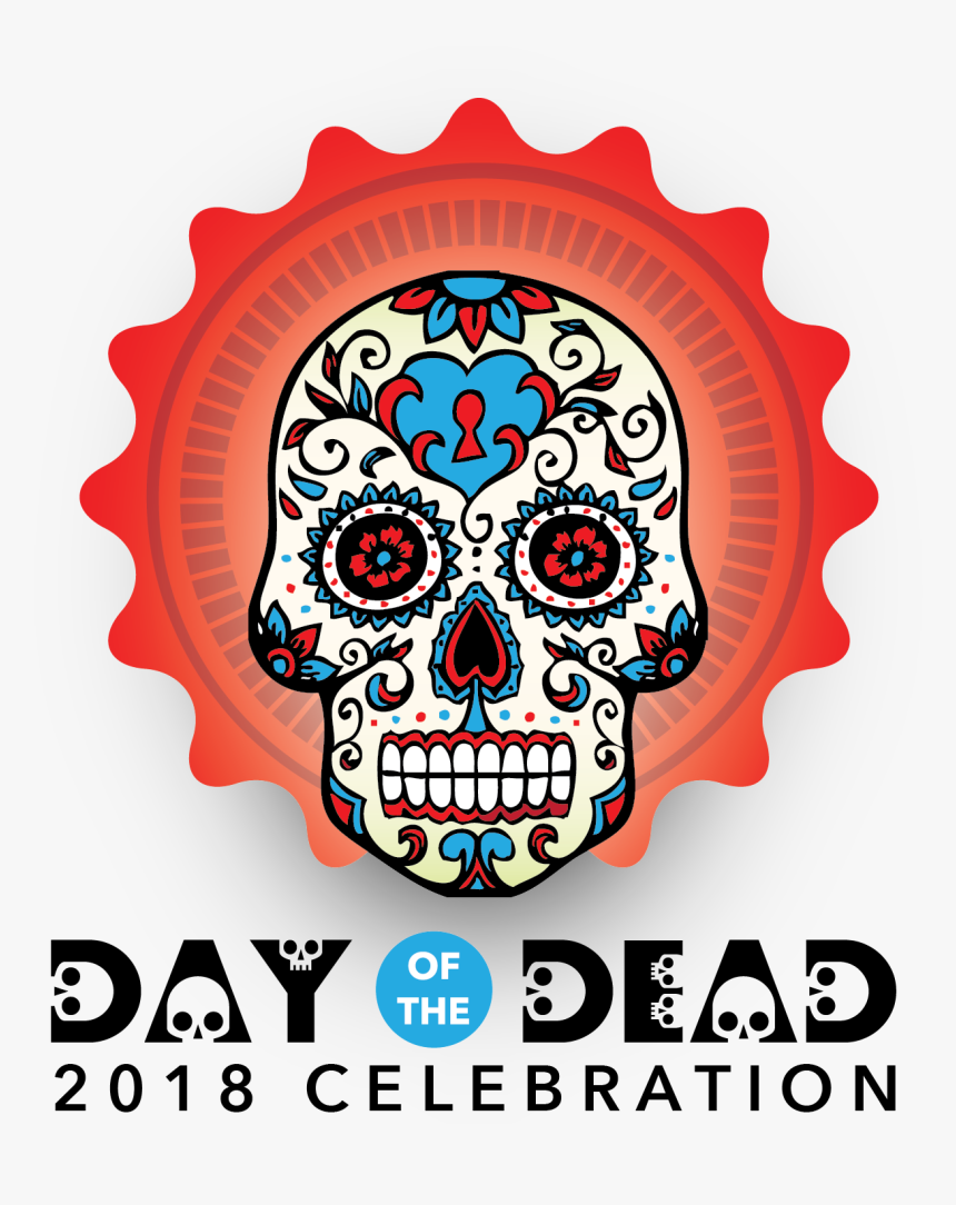 Transparent Day Of The Dead Skull Png - Day Of The Dead 2019, Png Download, Free Download