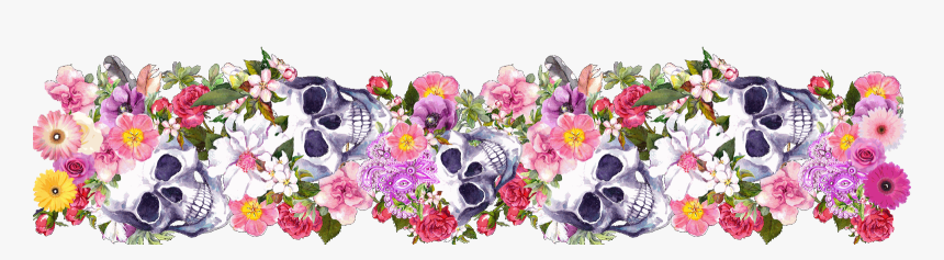 Day Of The Dead Border, HD Png Download, Free Download