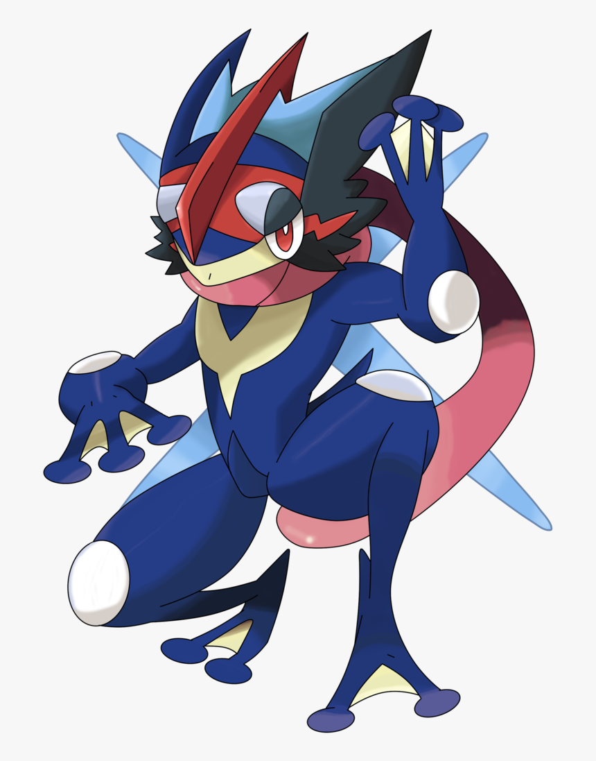 Greninja Ash By Waito Chan - Pokemon Greninja Z Png, Transparent Png, Free Download