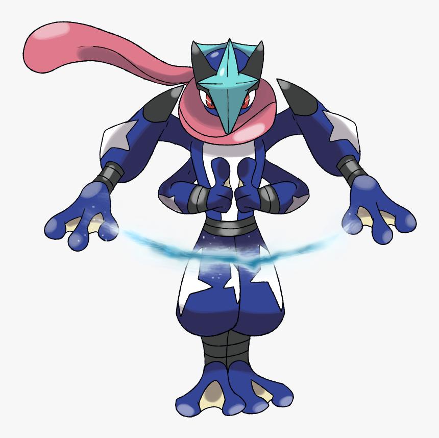 Pokemon Frogadier Mega Evolution , Png Download - Mega Green Ninja Pokemon, Transparent Png, Free Download