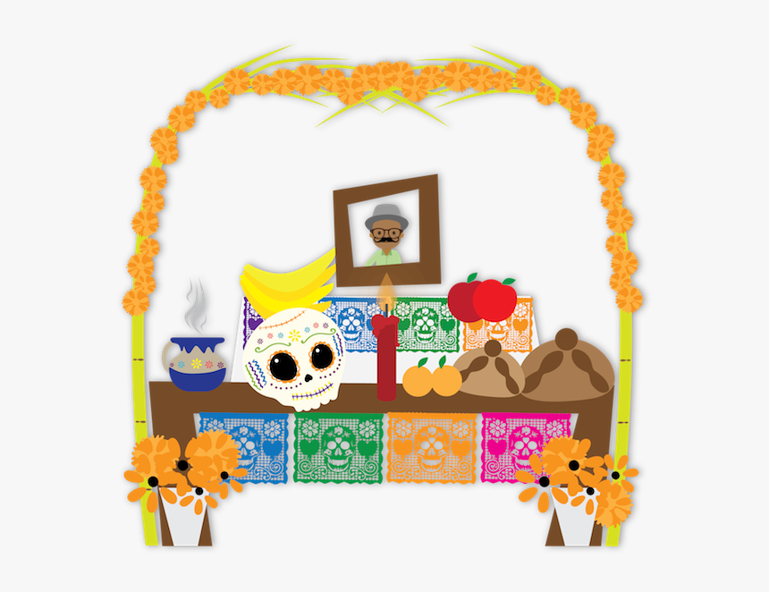 """Dulce""""s Day Of The Dead Messages Sticker-7 - Day Of The Dead Png, Transparent Png, Free Download"""