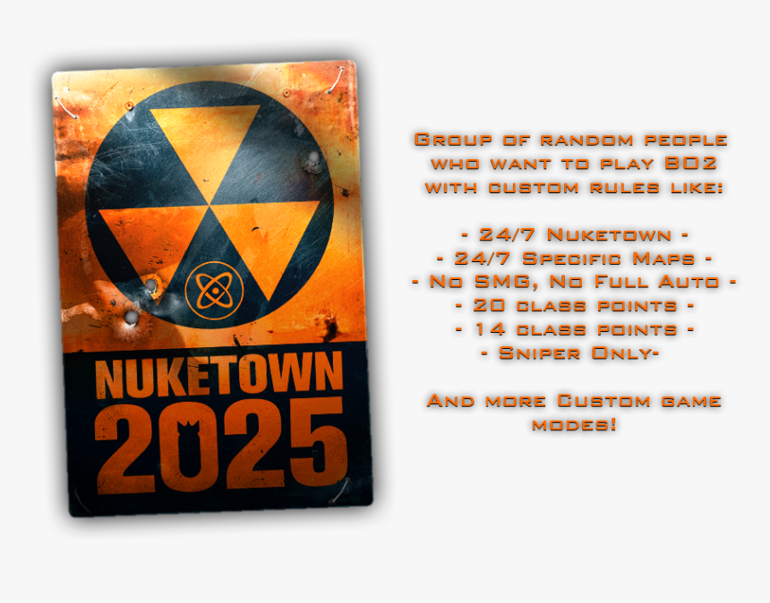 Nuketown 2025 Poster, HD Png Download, Free Download