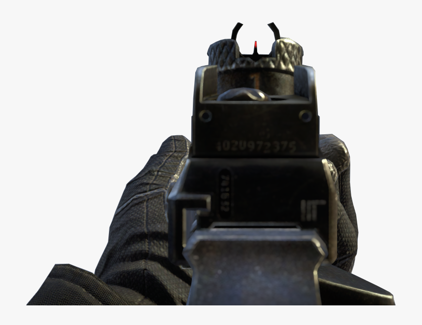 Bo2 M27 Iron Sights, HD Png Download, Free Download