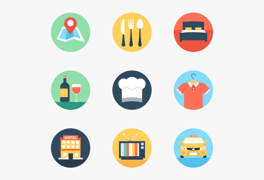 Essential Set - Flat Icon, HD Png Download, Free Download