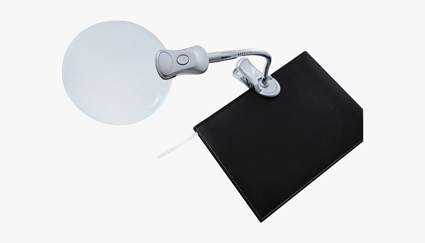 Bifocal Lens Led Handsfree Magnifier With Clip - Paper, HD Png Download, Free Download