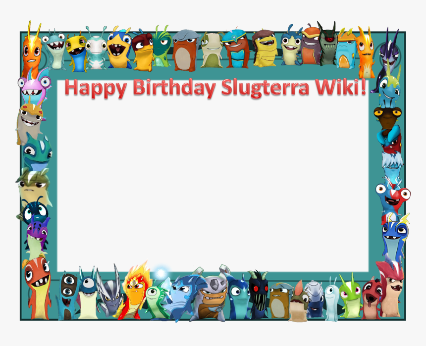 Happy Birthday Border Png - Hd Border Png Birthday, Transparent Png, Free Download