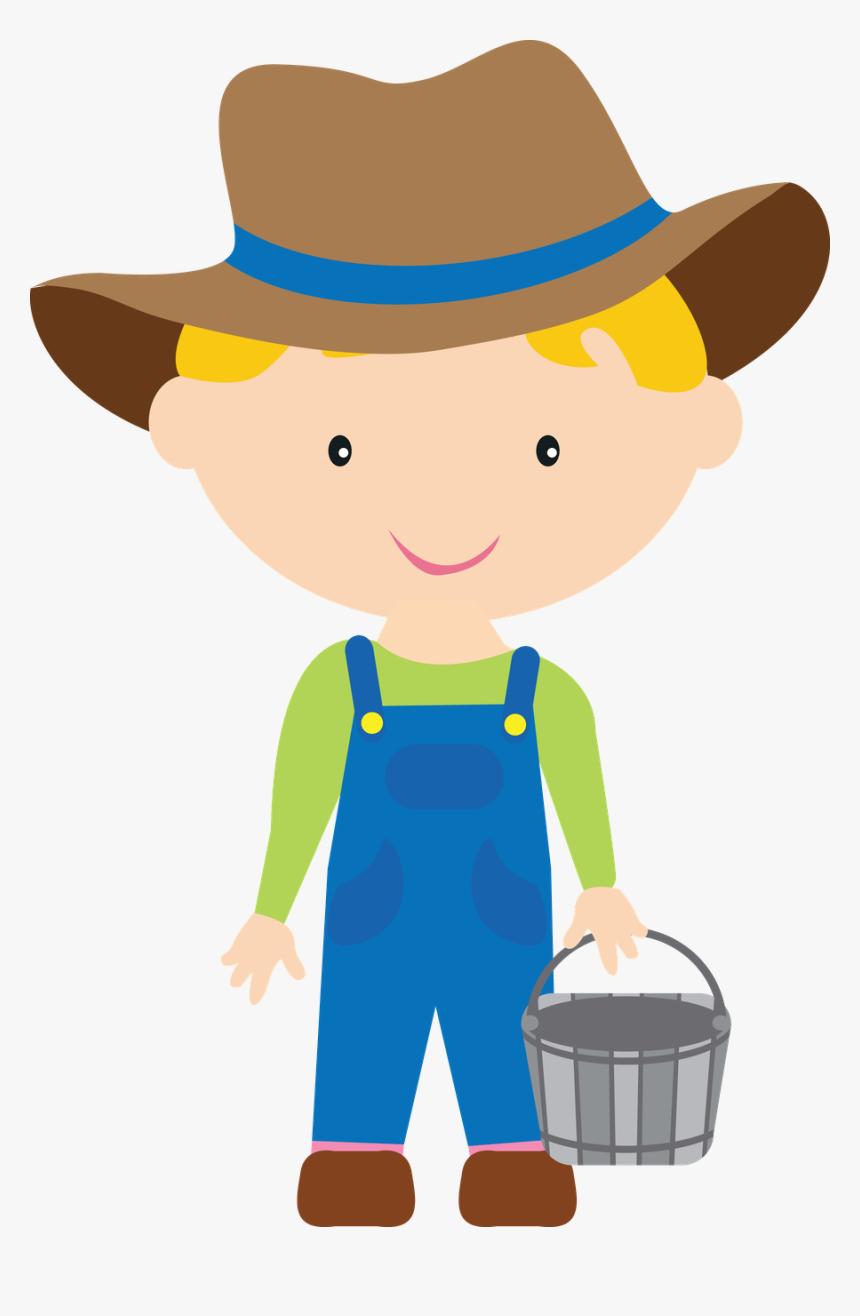 Farm Clipart Kids - Farmer Boy Clipart, HD Png Download, Free Download