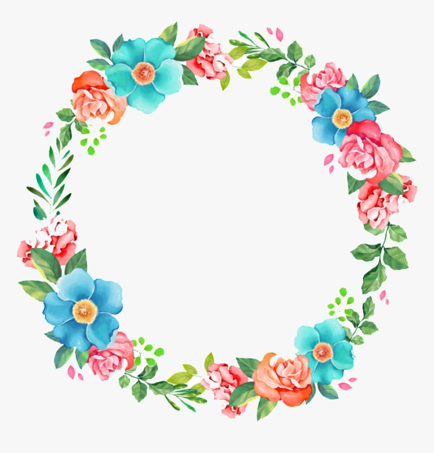 Transparent Blue Floral Clipart Kartu Ucapan Buket Bunga Hd Png Download Kindpng