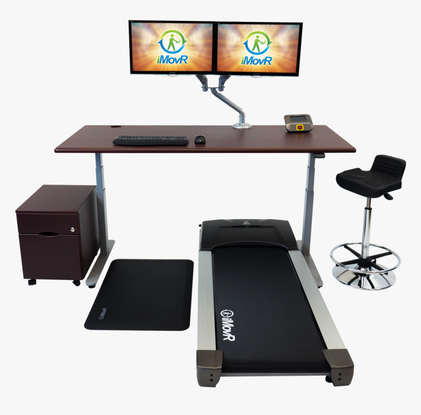 Treadmill Desk, HD Png Download, Free Download