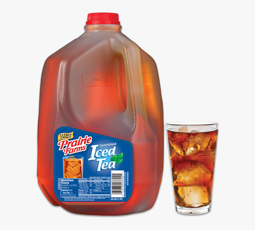 Transparent Iced Tea Png - Prairie Farms Sweet Tea Gallon, Png Download, Free Download
