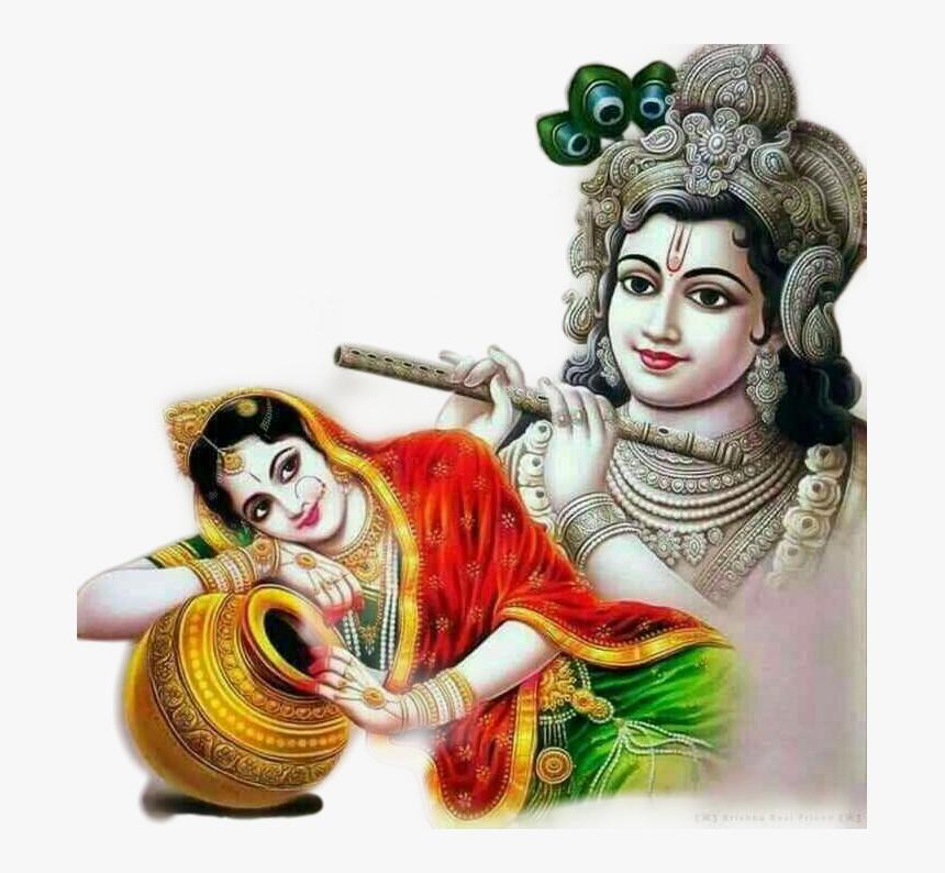 #radhakrishna #radha #krishana #love #peace # - Good Morning Radha Krishna, HD Png Download, Free Download