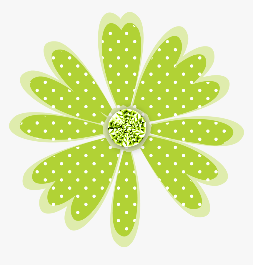 Transparent Daisy Clip Art - Flower Dots Png, Png Download, Free Download